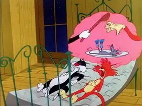 Sylvester and Tweety E80 – Mouse And Garden