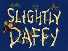 Slightly Daffy Original Title Card