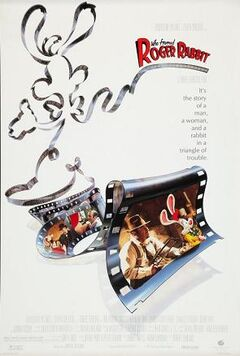 Movie poster who framed roger rabbit