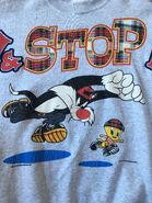Vintage Looney Tunes Sylvester Tweety sweater sweatshirt 1996 Medium