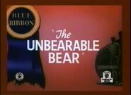 Unbearable Bear
