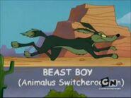 Beast Boy Wile E. Coyote