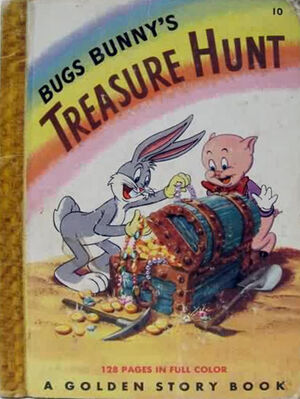 Lt book bugs bunnys treasure hunt