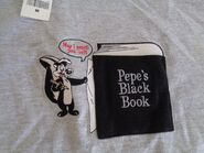 PEPE LE PEW Warner BROS Brothers NEW Black Book VINTAGE Shirt 1998 Size Medium
