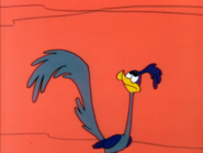 Road Runner frowning