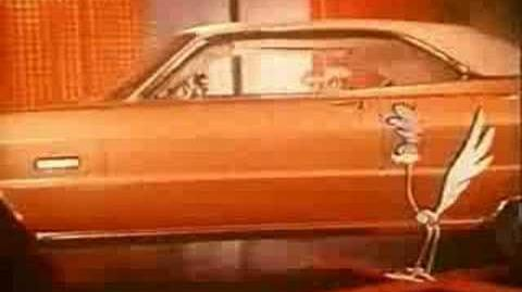 1969 Plymouth Roadrunner Barracuda TV Commercial 69