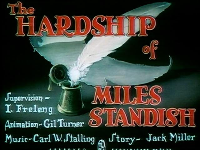 The Hardship of Miles Standish