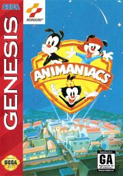 Animaniacs Sega Genesis Box Art