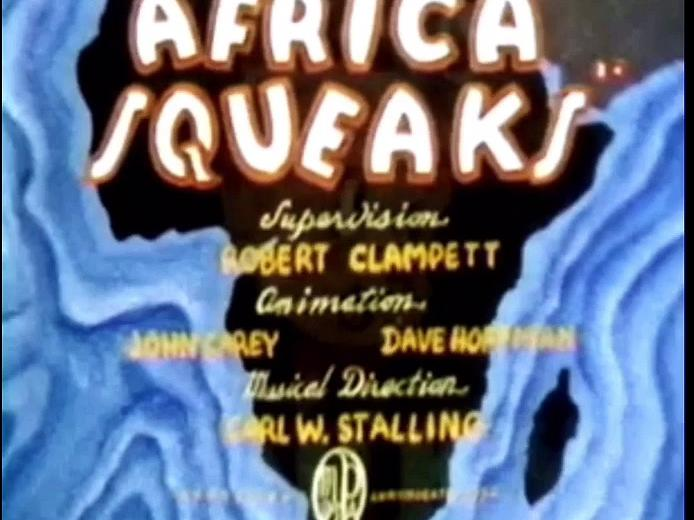 Africa Squeaks (1940) Redrawn Colorized