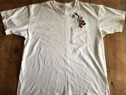 WARNER BROS STORE Wile E. Coyote Volley Ball Pocket T Shirt XL Volleyball