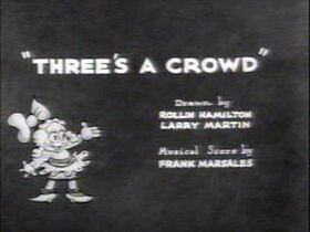 Threes-a-Crowd