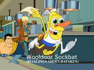 Drawn Together Wooldoor Sockbat as Road Runner