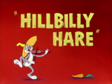 Hillbilly Hare