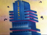 Baby Bottleneck 1946 24 storks inc