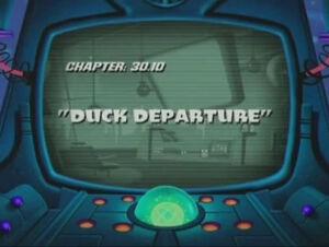 Lt duck dodgers duck departure