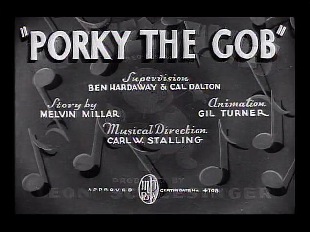 Porky Pig - Porky the Gob (1938)