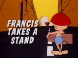 Francis Takes a Stand