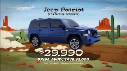 Jeep Off Road Runner Sale TV Commercial