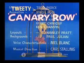 Sylvester and Tweety E19 – Canary Row