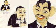 Caricatures clark peter edward