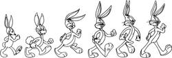Bugs Bunny Evolucion