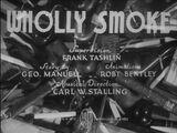 Wholly Smoke