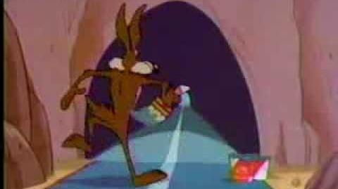 Energizer 1996 Commercial with Wile E. Coyote
