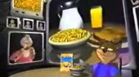 Golden Crisp Ad- Looney Tunes Figures (1995)