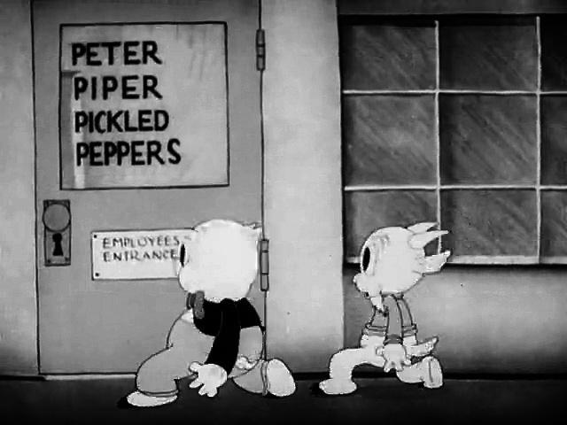 Porky Pig - Porky's Badtime Story (1937)