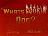 What's Cookin' Doc?