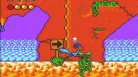 Desert Speedtrap (Sega GameGear) - Walkthrough - Level 6 - Gone to Seed