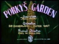Porkys garden