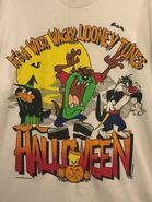 Looney Tunes Halloween T-Shirt size Large