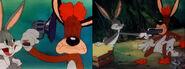 Hare ribbin alterneate ending