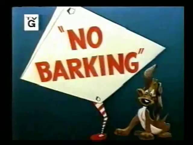 Looney Toons - Tweety - No Barking
