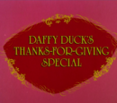 Daffy Duck's Thanks-for-Giving Special