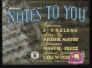 Notes To You (Computer Colorized)