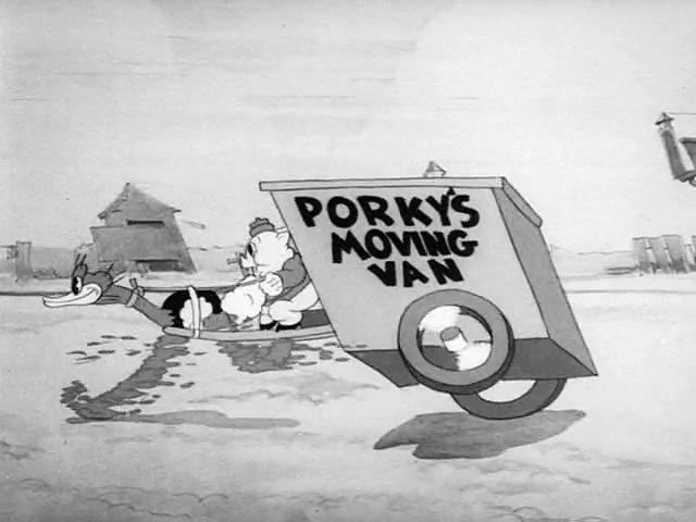 Porky Pig - Porky's Moving Day (1936)