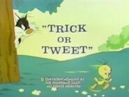 Lt trick or tweet sylvester and tweety show