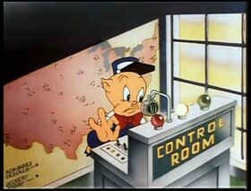 Porky Pig - Baby Bottleneck (1946, EU dubbed version)