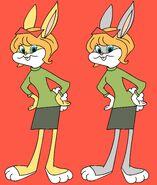 Honey Bunny wonder bread card KOLOR obie wersje