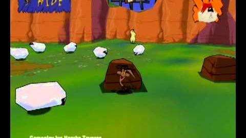 Sheep, Dog, 'n' Wolf (PC) - Level 3