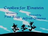 Cookies for Einstein