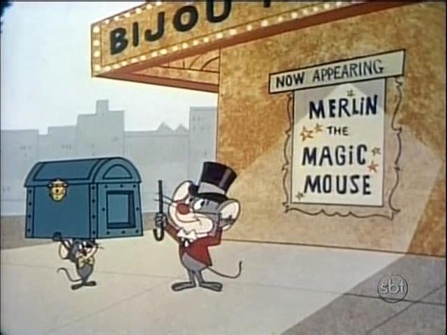 Looney Tunes - Merlin, o Rato Mágico - Merlin, the Magic Mouse (1967) (dublagem Cinecastro)