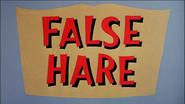 False Hare CroppedWs Title Card Remastered