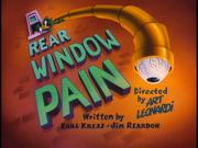 Rear Window Pain