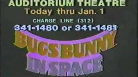 Bugs Bunny Meets the Superheroes commercial 1979