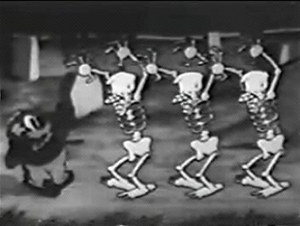 Uncle Tom and the skeletons