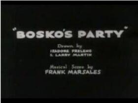 Boskosparty