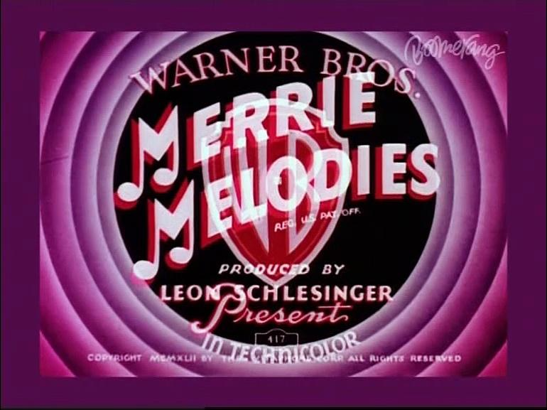 Merrie Melodies - Dog Tired (1942) Dubbed Version